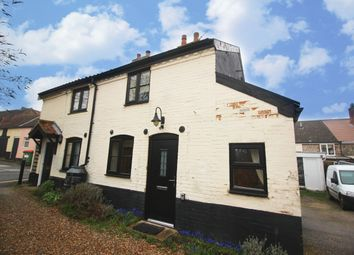 Thumbnail 2 bed cottage for sale in Friarscroft Lane, Wymondham