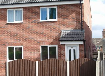 Thumbnail 2 bed flat to rent in Cedric Court, Thurcroft