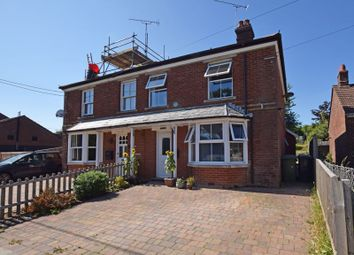 Thumbnail 3 bed semi-detached house for sale in Ropley, Alresford, Hampshire