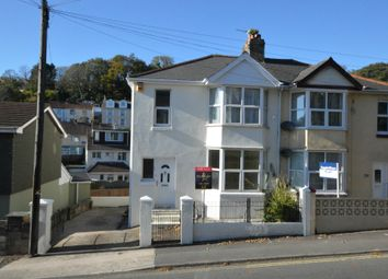 Thumbnail 3 bed semi-detached house for sale in Teignmouth Road, Torquay