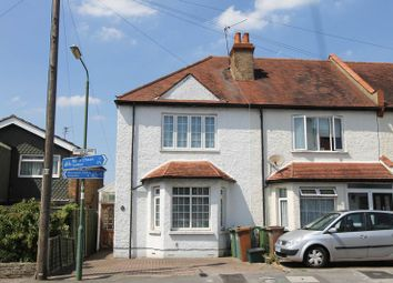 Thumbnail 2 bedroom end terrace house for sale in Longfellow Road, Worcester Park