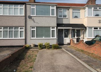 Thumbnail 3 bed terraced house to rent in Percy Road, Romford