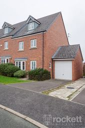 Thumbnail 4 bed town house to rent in Reedmace Walk, Newcastle-Under-Lyme