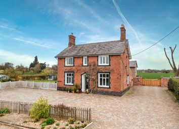 Wollerton, Market Drayton TF9. 4 bed detached house for sale