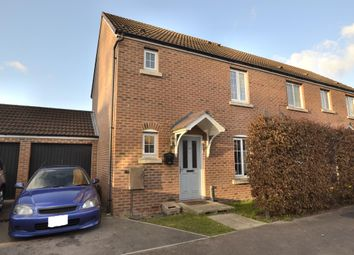 Thumbnail 3 bed semi-detached house for sale in Lyneham Drive, Quedgeley, Gloucester