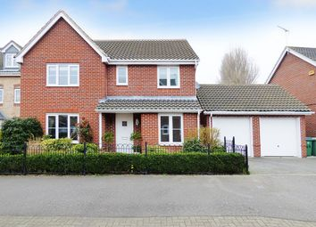 Thumbnail 4 bed detached house for sale in Holmes Way, Wick, Littlehampton