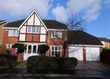 Thumbnail 4 bed detached house for sale in Heol Leubren, Barry, Vale Of Glamorgan