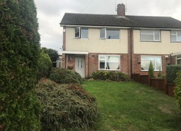 Thumbnail 3 bed semi-detached house to rent in Ellis Close, Glenfield