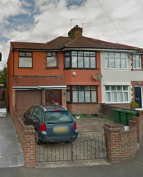 Thumbnail 4 bed semi-detached house to rent in Craigwell Avenue, Feltham