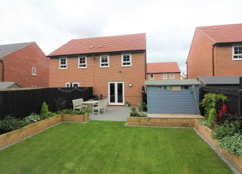 Thumbnail 3 bed semi-detached house for sale in Holland Crescent, Ashby-De-La-Zouch