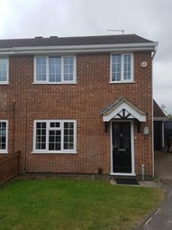 Thumbnail 3 bed semi-detached house to rent in East Rising, Wootton, Northampton