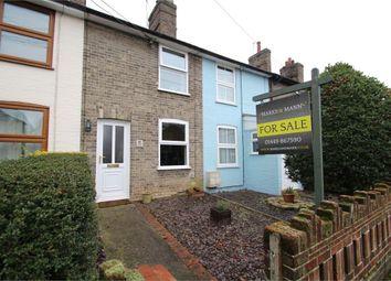 Thumbnail 2 bedroom terraced house for sale in Bridge Street, Stowmarket, Suffolk