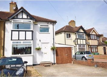 Thumbnail 3 bed semi-detached house for sale in Second Avenue, Garston, Watford