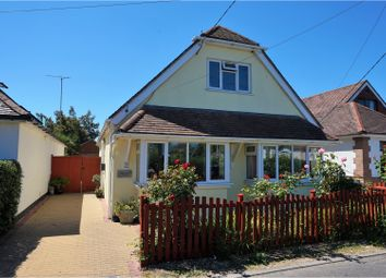 Thumbnail 4 bed detached bungalow for sale in High Mead, Ferndown
