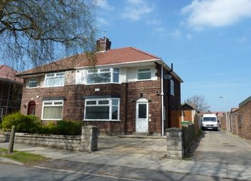 Thumbnail 3 bed semi-detached house to rent in Borrowdale Road, Bebington, Wirral