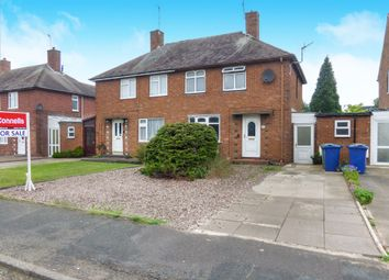 Thumbnail 2 bedroom semi-detached house for sale in Avon Road, Cannock