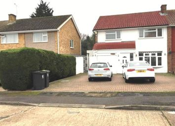 Thumbnail 3 bedroom semi-detached house to rent in Daylop Drive, Chigwell