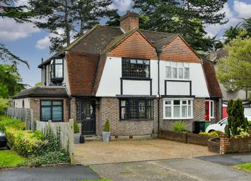 Thumbnail 3 bed semi-detached house for sale in Ewell Park Way, Stoneleigh, Surrey