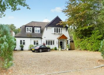 Thumbnail 4 bed detached house for sale in The Riding, Woodham, Addlestone