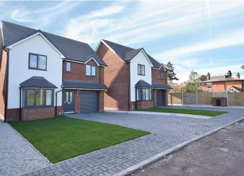 Thumbnail 4 bed detached house for sale in Whitchurch Road, Wem, Shrewsbury