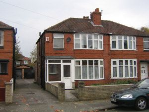 Thumbnail 4 bedroom shared accommodation to rent in Ashdene Road, Withington