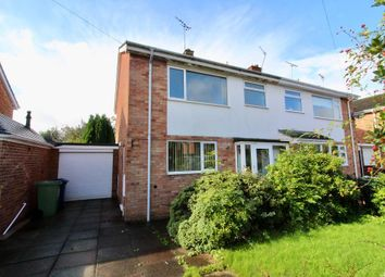 Thumbnail 3 bed semi-detached house to rent in Heathfield Avenue, Stone