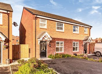 Thumbnail 3 bed semi-detached house for sale in Eason Way, Ashton-Under- Lyne