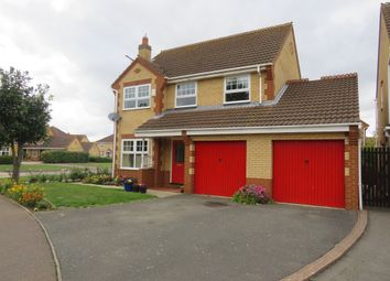 Thumbnail 4 bedroom detached house for sale in Glencoe Way, Orton Southgate, Peterborough
