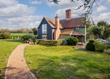 Thumbnail 4 bed detached house for sale in Kedington Road, Sturmer, Haverhill