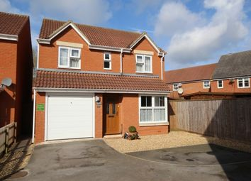 Thumbnail 4 bed detached house for sale in Duchess Close, Bridgwater