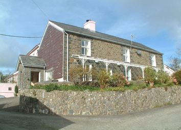 Thumbnail 6 bed detached house for sale in Llanarth, Aberaeron, Ceredigion