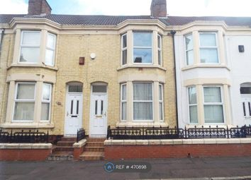 Thumbnail 4 bed terraced house to rent in Saxony Road, Liverpool