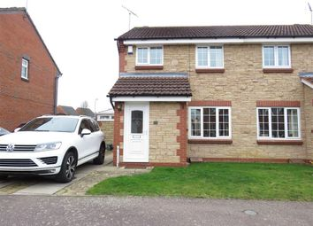 Thumbnail 3 bed semi-detached house for sale in Betony Walk, Rushden