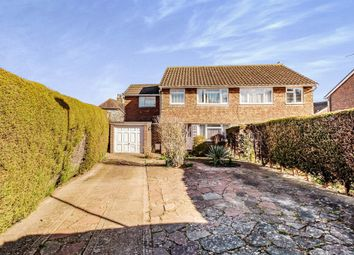 Thumbnail 4 bed semi-detached house for sale in Test Road, Sompting, Lancing