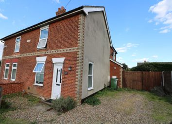 Thumbnail 2 bed semi-detached house to rent in Shelfanger Road, Diss