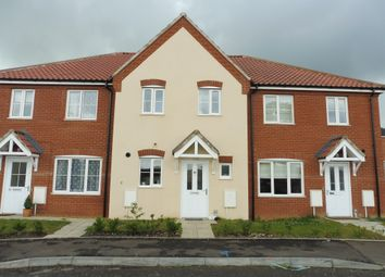 Thumbnail 2 bedroom terraced house for sale in Long Meadow Drive, Roydon, Diss