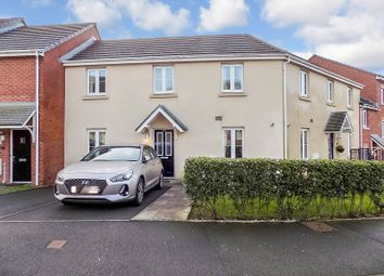 Thumbnail 2 bed terraced house for sale in Longacres, Brackla, Bridgend.