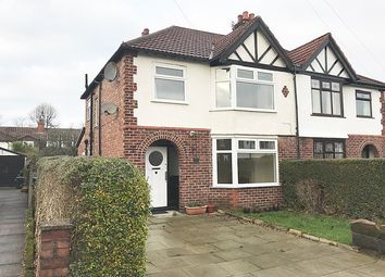 Thumbnail 3 bed semi-detached house to rent in Sandileigh Avenue, Hale, Altrincham