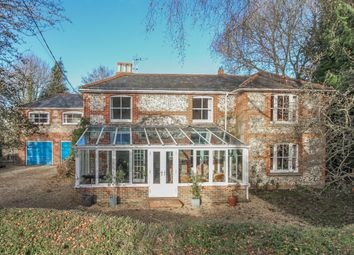 Thumbnail 5 bed detached house for sale in Thruxton, Andover, Hampshire