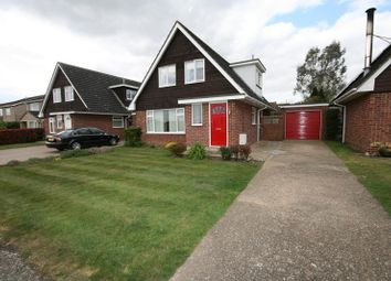 Thumbnail 3 bed detached house for sale in Cedar Drive, Attleborough