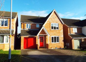 Thumbnail 4 bed detached house for sale in Feast Field Close, Wollaston, Northamptonshire
