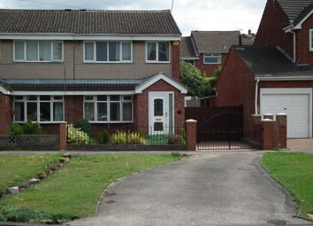 Thumbnail 3 bed semi-detached house to rent in Hill View Road, Rotherham