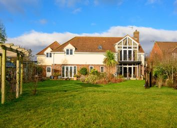 Thumbnail 5 bed detached house for sale in March Road, Tipps End, Welney, Wisbech
