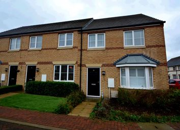 Thumbnail 3 bed end terrace house for sale in Rathbone Crescent, Peterborough