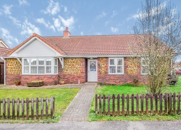 Thumbnail 3 bed detached bungalow for sale in Napthans Lane, Wimbotsham, King's Lynn