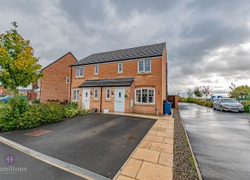 Thumbnail 3 bed semi-detached house for sale in Fairclough Park Drive, Leigh, Greater Manchester.