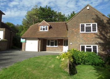Thumbnail 4 bed detached house to rent in Cranedown, Lewes