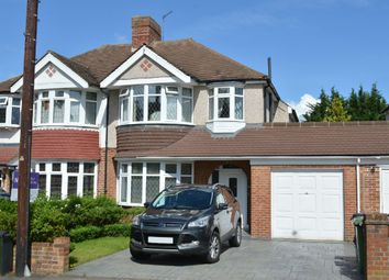 Thumbnail 3 bedroom semi-detached house to rent in Ruxley Lane, West Ewell, Surrey