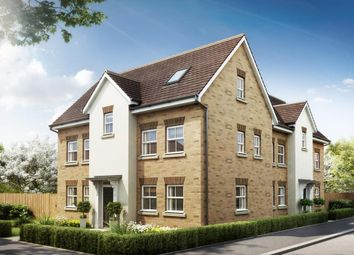 "Thumbnail 4 bedroom semi-detached house for sale in ""Hesketh"" at Southern Cross, Wixams, Bedford"