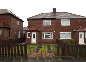 Thumbnail 2 bed semi-detached house to rent in Patience Avenue, Seaton Burn, Newcastle Upon Tyne